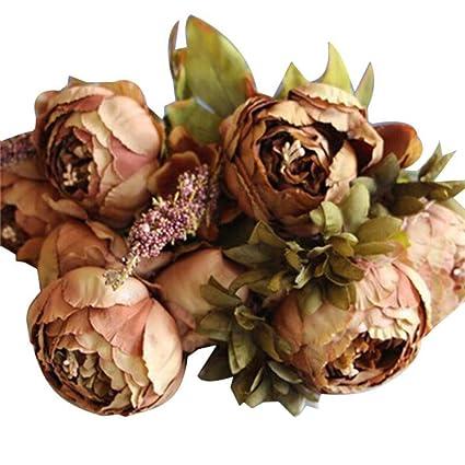 Amazon Homze Fall Decorations Decorative Flowers European
