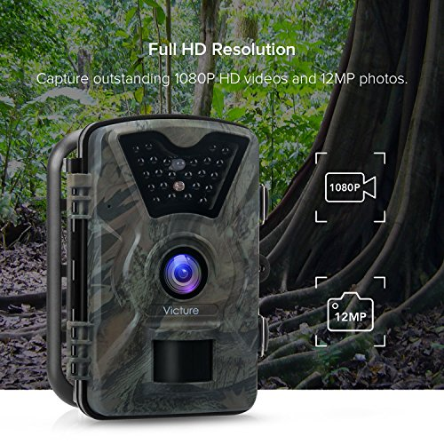 Review 【Upgraded】Victure Trail Camera 1080P