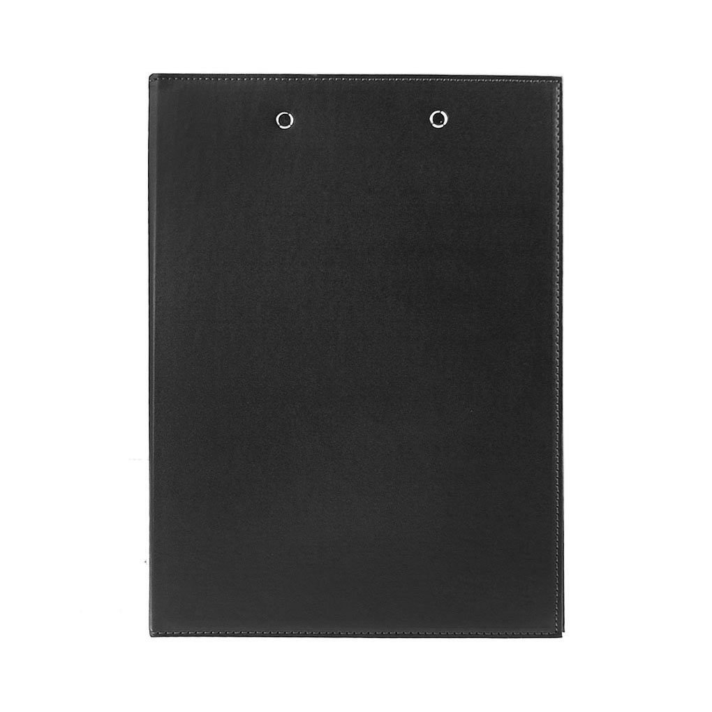 Clobeau Upscale Leather A4 Lever Arch File Cover Clipboard Paper Documents Storage Folders Binder Clip Portfolio Writing Board Pad Tablet Project File Folder with Double Paper Clips Office Stationary by MoonLove (Image #3)