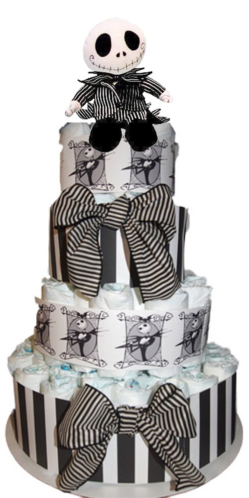 Nightmare Before Christmas Diaper Cake Just For Your Baby Boutique