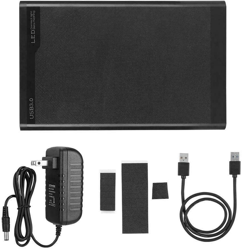 lzndeal3.5 HDD External Enclosure Box for Hard Drive USB 3.0 to SATA Mobile Hard