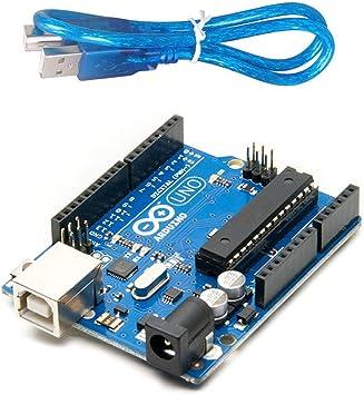 Amazon.com: Devbattles Arduino Uno R3, placa ...