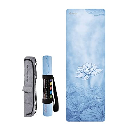 DNSJB Travel Yoga Mat | Ligero Plegable, Antideslizante Yoga ...