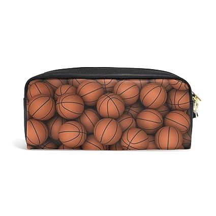 yochoice elegante deportes pelotas de baloncesto lápiz pluma caso ...