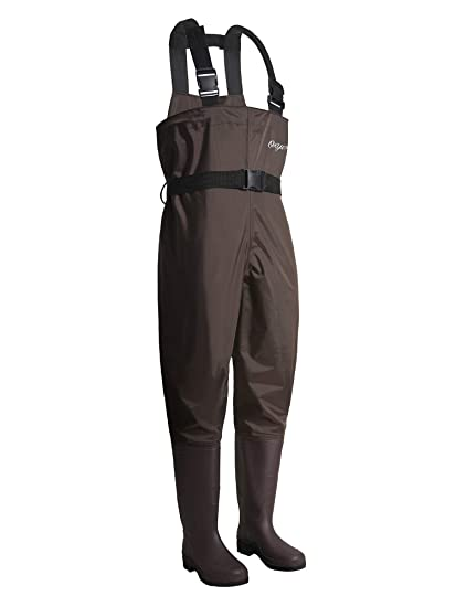 42791eda6f5b1 OXYVAN Waders Waterproof Lightweight Fishing Waders with Boots Fly Fishing  Chest Waders for Men Women