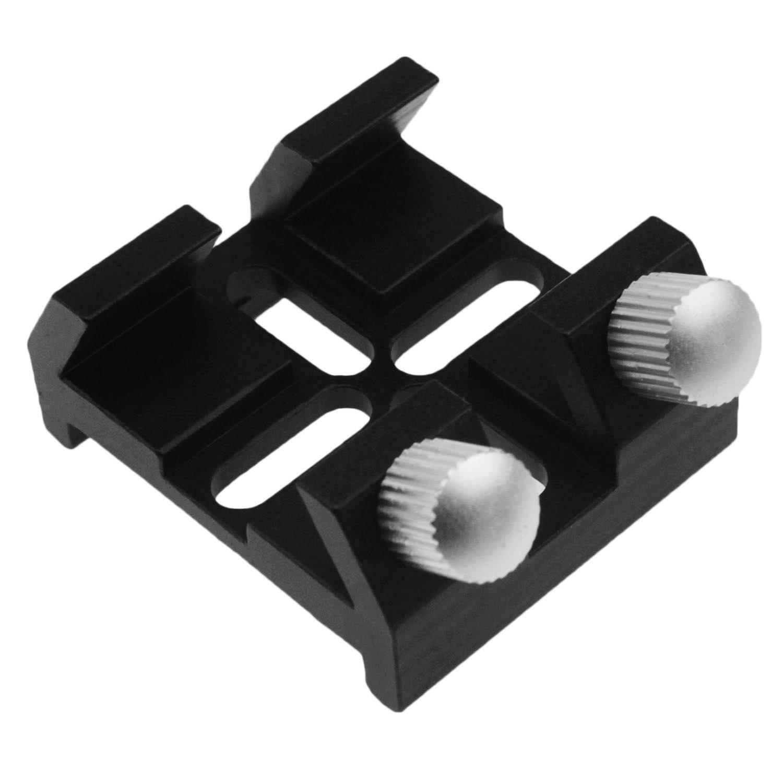 Alstar Universal Dovetail Base for Finder Scope - Ideal for Installation of Finder Scope, Green Laser Pointer Bracket