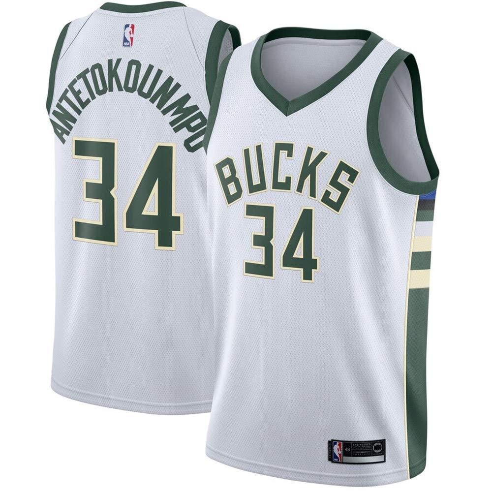 Statement Edition #34 Giannis Antetokounmpo Milwaukee Bucks Swingman Jersey