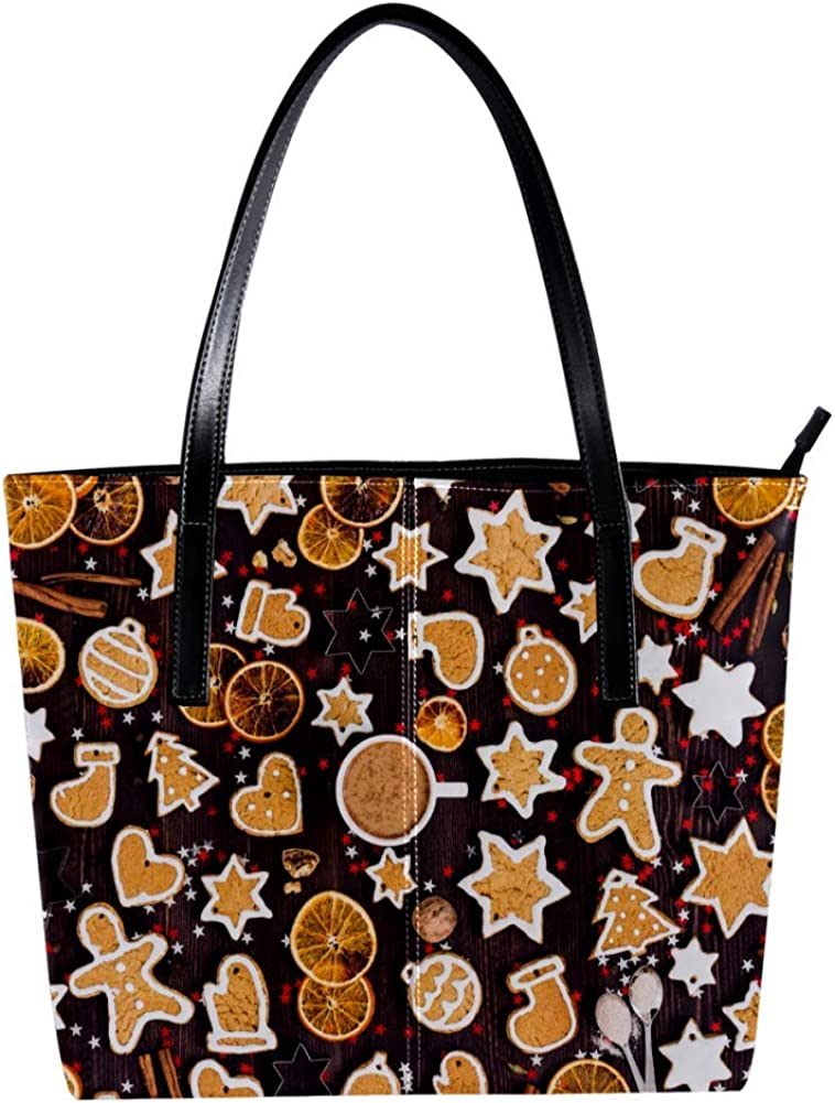 Handbags for Women,Christmas Roomy Soft Shoulder Bags with fashion design,Christmas elements
