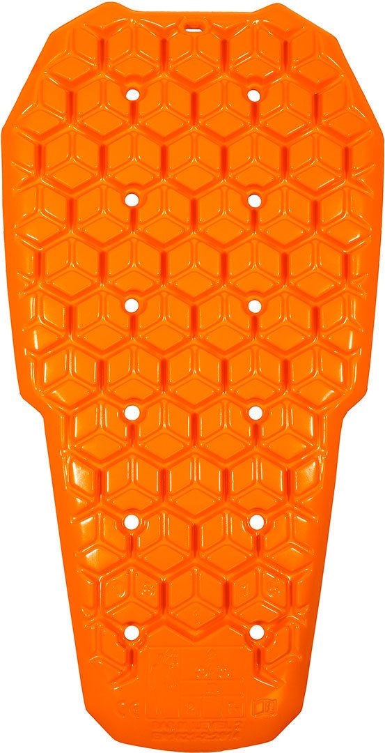 Motorcycle Rukka Back Protector Full Back Armour D3O Orange L 1