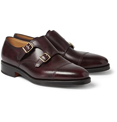 John Lobb William Leather MonkStrap Shoes