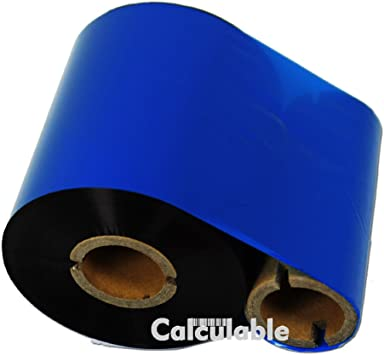 "3 Rolls 4.33/"" x 1476/' 110mm x 450m  CSO Black Thermal Ribbon for Zebra /& Others"