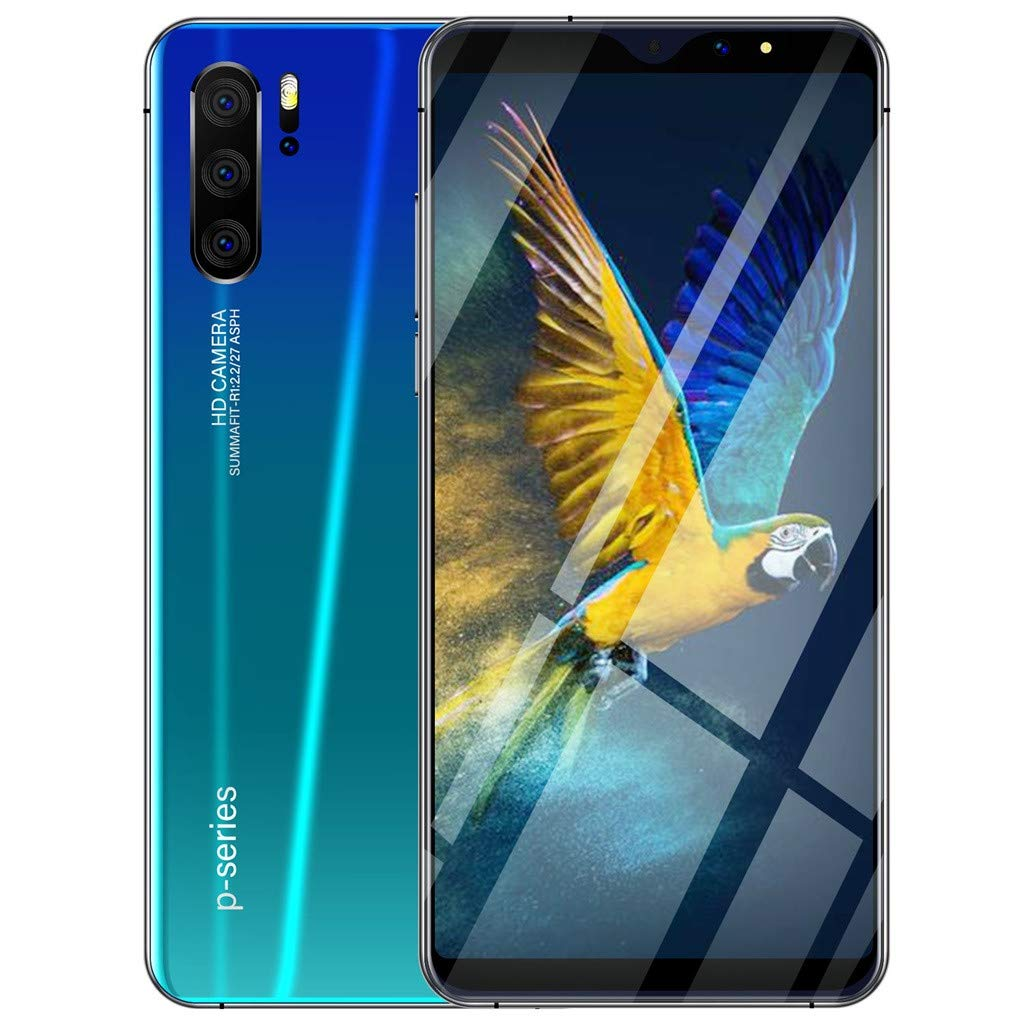Whitesbout Eight Core 6.3 inch Smartphone Android 9.1 1G RAM 16ROM 3G Call Mobile Phone (Green)