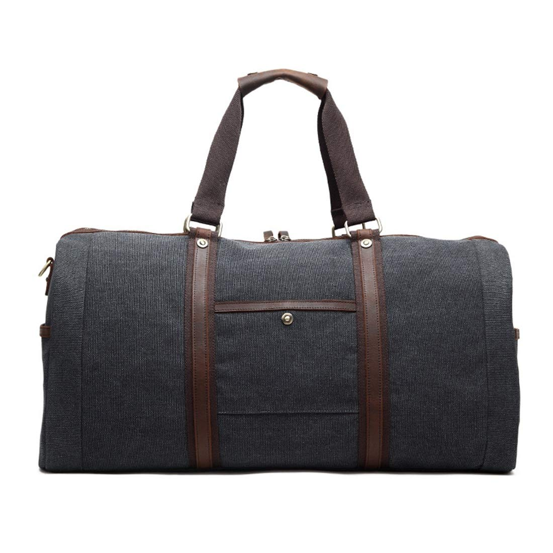 MATCHANT Canvas Traveling Bags Single Shoulder Skew Multi Function Luggage Bags Color : Light Gray Traveling Large Capacity Handbags Casual Mens Canvas Mens Bags.