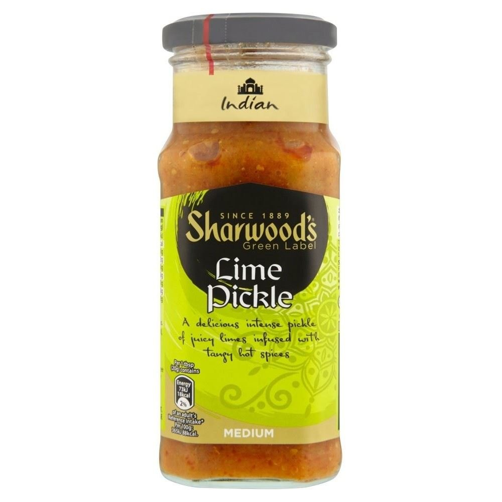 Sharwood's Lime Pickle (300g) - Pack of 2