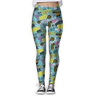 Articles About Animals Womens Ladies Comfortable Tights Active Yoga Running Pants Workout Leggings