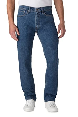 d7333e53387 Image Unavailable. Image not available for. Color: Signature by Levi Strauss  & Co. Men's Regular Fit Premium Jeans (Medium Indigo,