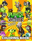 Plants vs Zombies Coloring Book: Exclusive Work