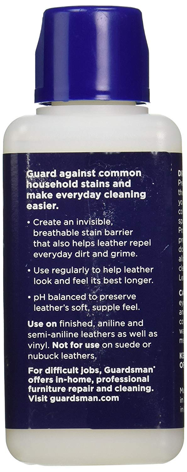 Guardsman Protect & Preserve for Leather 8.4 oz - Repels Stains, Retains Color and Softness, Great for Leather Furniture & Car Interiors - 471000-2 Pack by Guardsman (Image #1)
