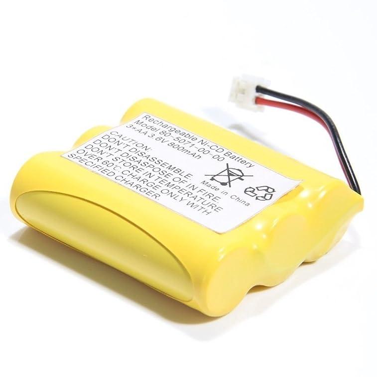 BatteryMon 800mAh Rechargeable Cordless Phone Battery for Vtech ia5864 ia5874 ia5879 80-5071-00-00, Motorola MA300 MA303 MA350 MD-7081 MD-7091MD-481SYS, Radio Shack 23-298