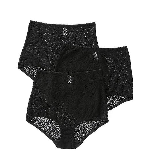 01da37726f7232 Teri Basic Lace Full Cut Brief Panties - 3 Pack (308) at Amazon Women's  Clothing store: Briefs Underwear