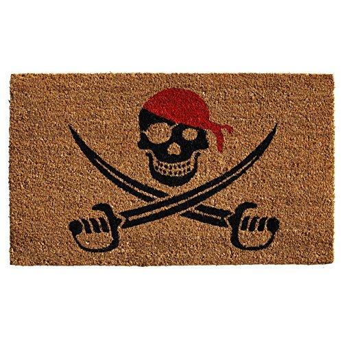 Calloway Mills 121211729 Pirate Doormat, 17