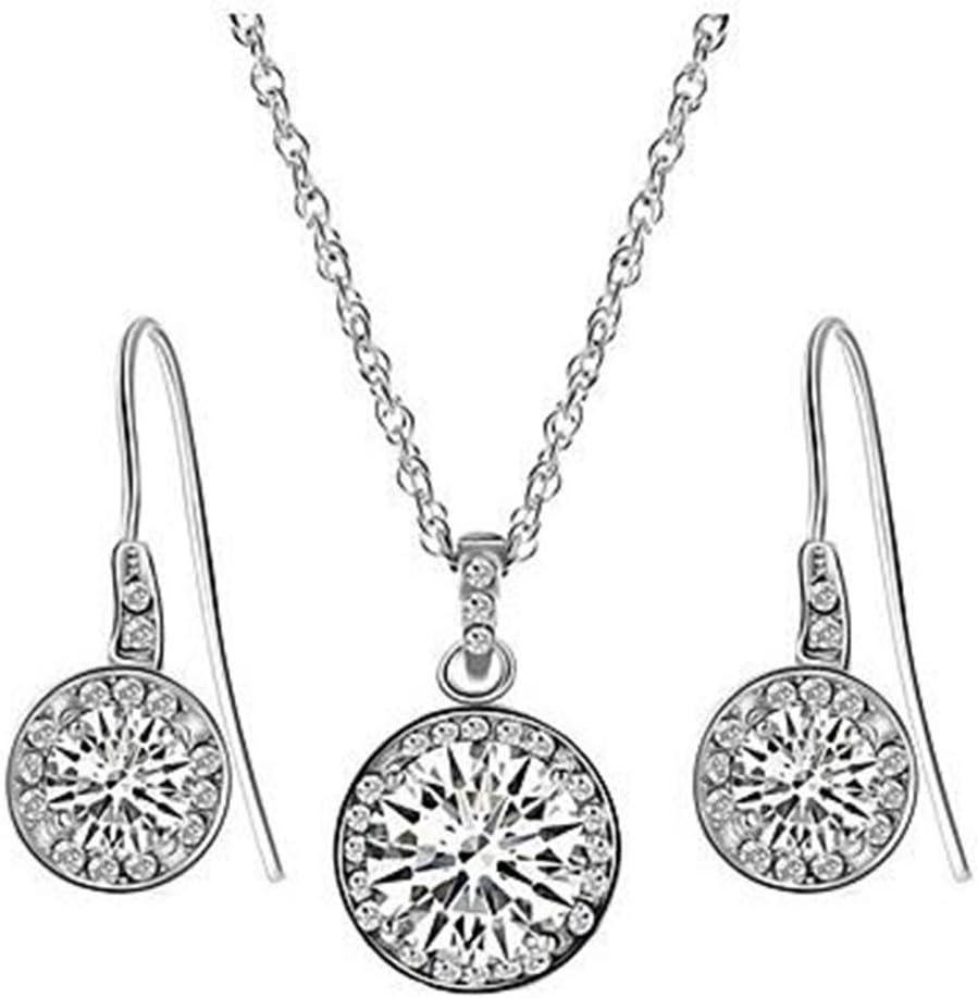 GYJUN Joyas Collar / Pendientes La imitación de diamante Fiesta / Diario / Casual / Zirconio 1 Set Mujer