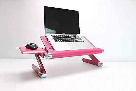 Supporto Per Notebook Da Divano.Backpainhelp Tavolino Portatile Supporto Per Pc Notebook Laptop Regolabile Con Aperture Per Raffreddamento Pieghevole E Portatile Supporto