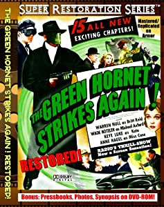 The Green Hornet Strikes Again! Restored! Serial on Scratch Proof DVD's