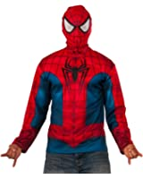 Rubie's Costume Co. Men's Marvel Universe Spider-Man Long Sleeve Costume Top