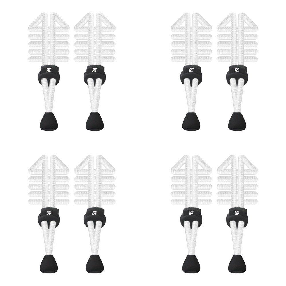 Paquetes de elástico redondo cordones de bloqueo para correr y triatlón–UK vendedor NEO+