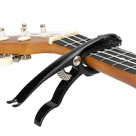 Hidear B12 Capo - Cejilla para guitarra acústica y eléctrica (aleación de zinc y delicada