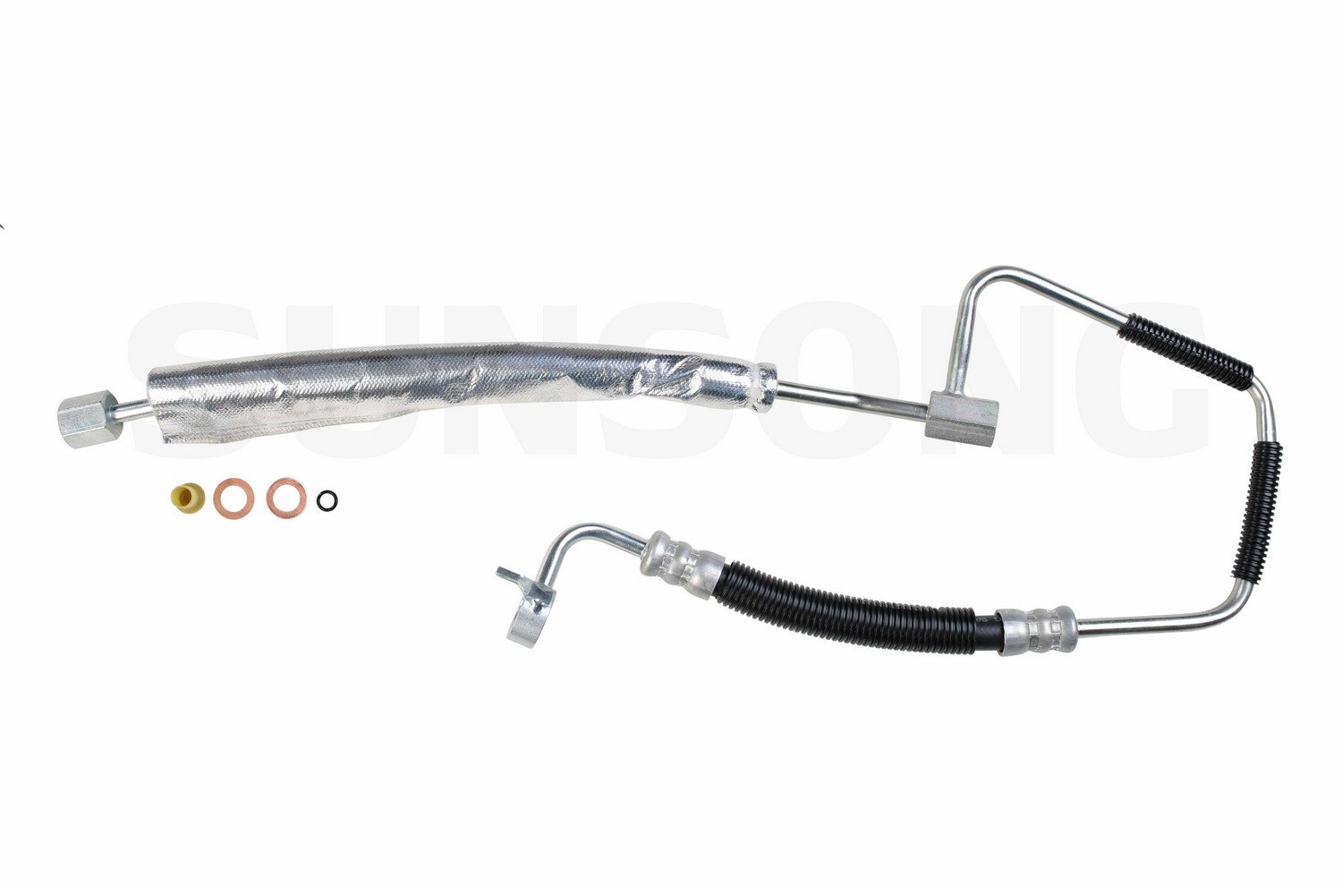 Sunsong 3401073 Power Steering Pressure Line Hose Assembly