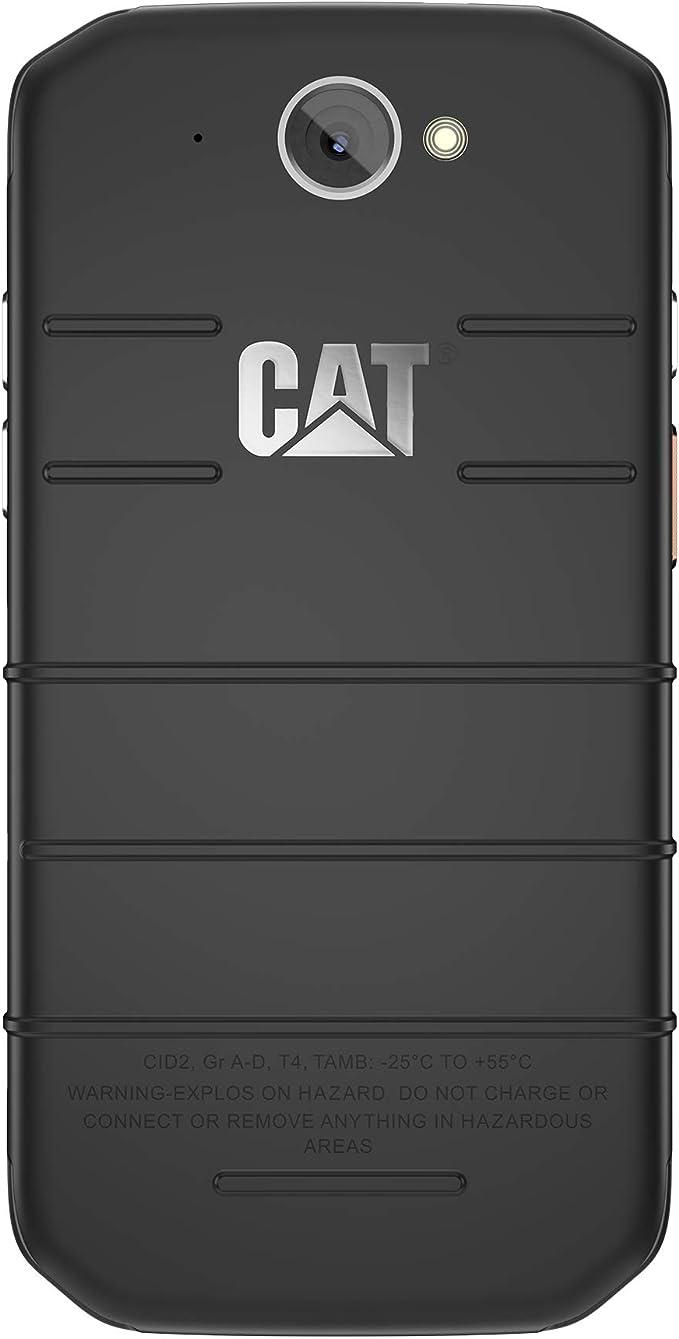 CAT PHONES S48c Unlocked Rugged Waterproof Smartphone, Verizon Network Certified (CDMA), US Optimized (Single Sim) with 2 Year Warranty Including 2 ...