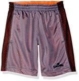 Spalding Little Boys' Core Athletic Short, Grey, 5/6