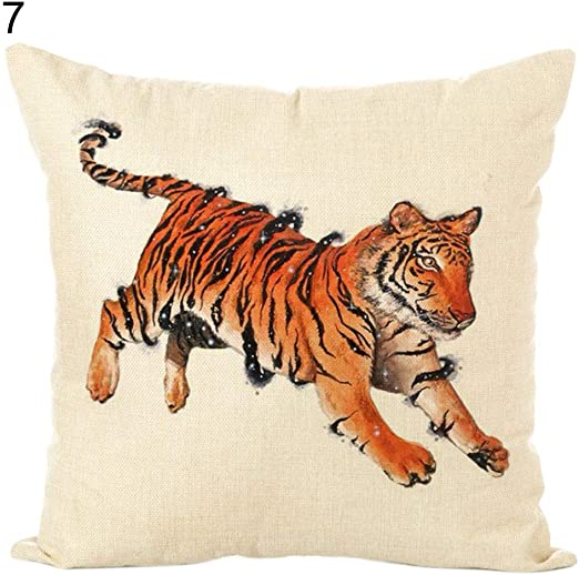 "New Design Animal Pattern Pillowcase Cushion Cover Sofa Home Car Decor 18/""x18/"""