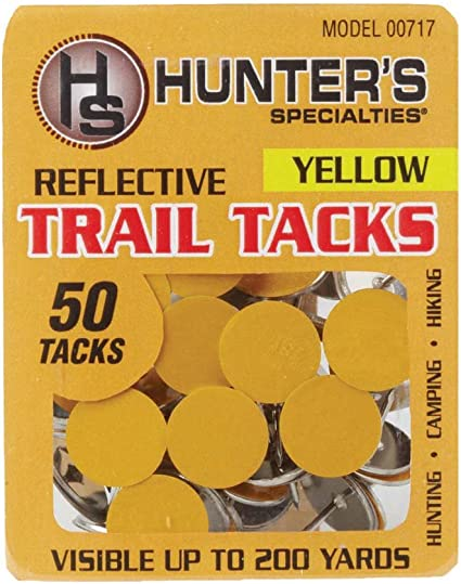 ARCHERY TREE STAND HUNTING  BLACK REFLECTIVE TAPE MARKERS