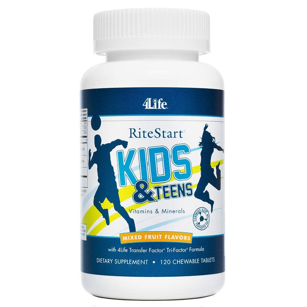 Ritestart® Kids & Teens, 120 Chewable Tablets