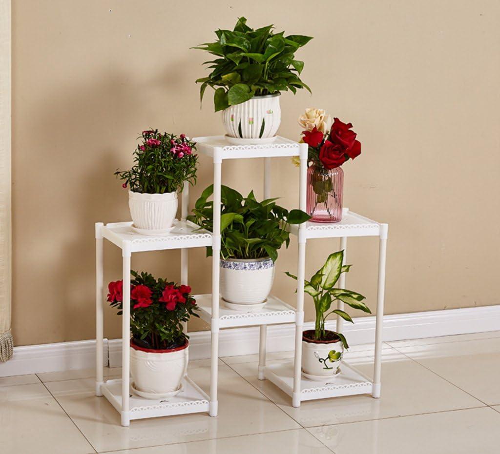 AIDELAI - Estante de Flores para balcón, Estante de Flores para ...