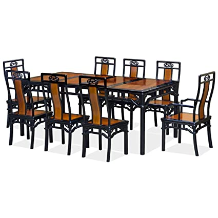amazon com chinafurnitureonline rosewood dining table 80 inches rh amazon com