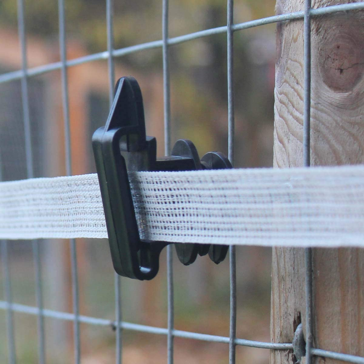 1, 20 Fortis Electric Tape is Perfect for Horses and Equestrian Fencing Suregreen Electric Fence Tape 200m Rolls available in 20mm and 40mm Thick White Polytape