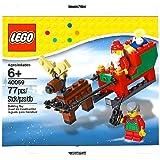 Lego 40059 Santa and His Sleigh 77 Pc. Holiday 2013