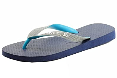4da4ed032 Havaianas Top Mix 4115549-0747 Unisex Brazil Fashion Slippers Flip Flops  Sandals Navy Blue