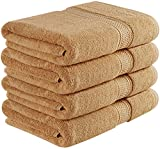 Utopia Towels 700 GSM Premium Bath Towels Set - Cotton Towels for Hotel and Spa, Maximum Softness and Absorbency by (4 Pack)