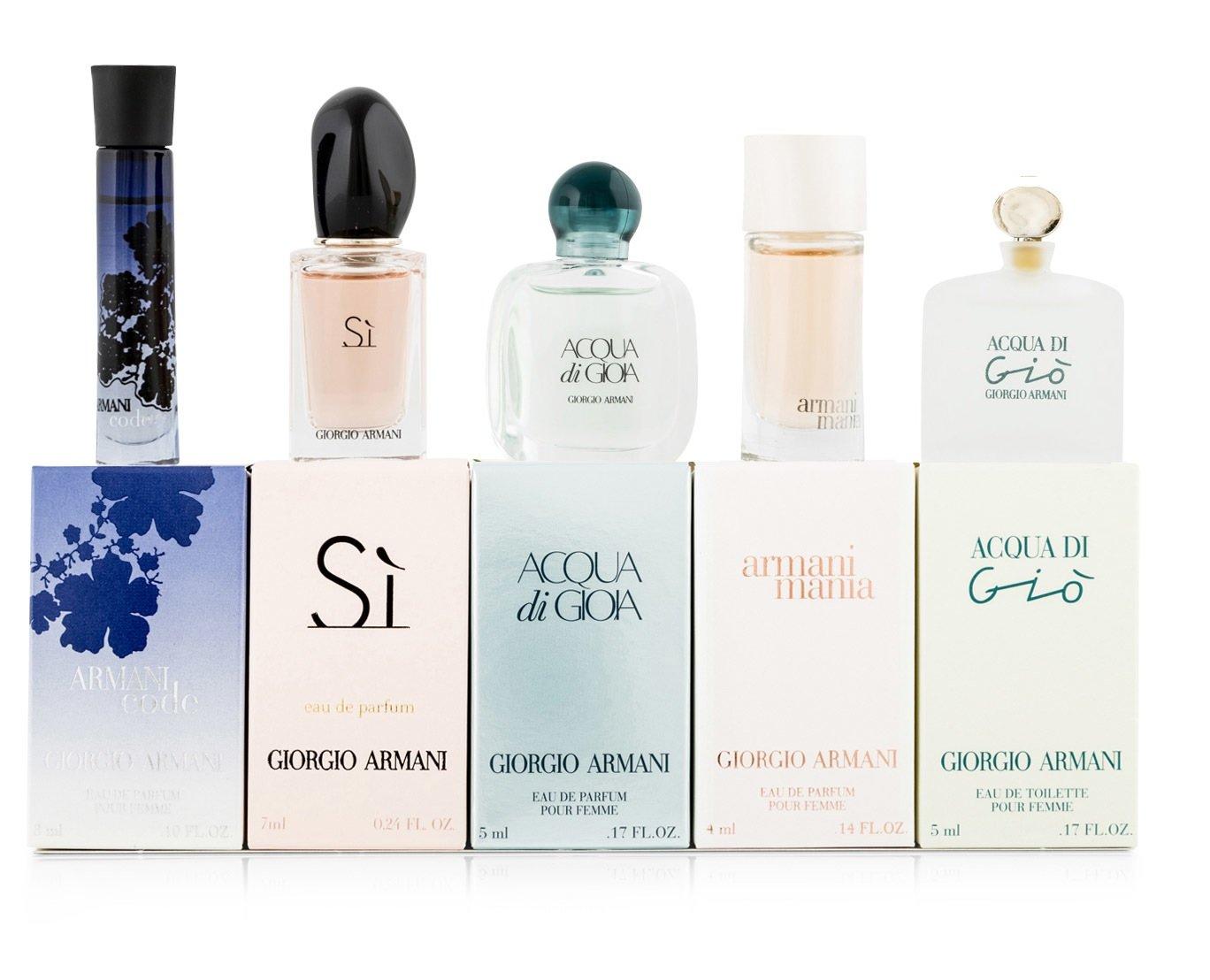 Giorgio Armani Variety for Women 5 Pc Gift Set Mini W-GS-3624