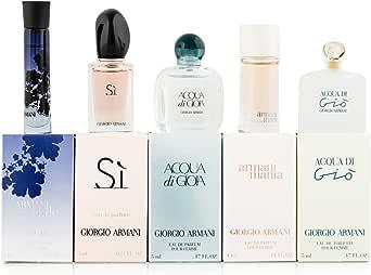 Giorgio Armani Variety Mini Gift Set for Women (Pack of 5)