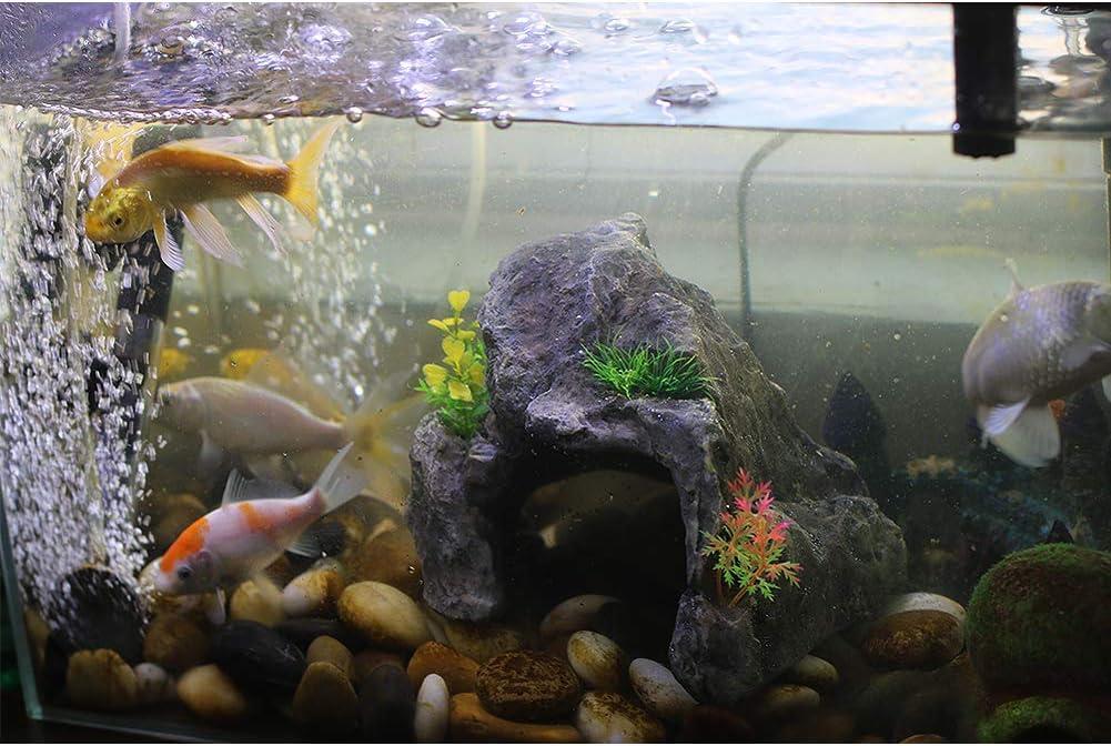 Sunyiny Fish Tank Decorations Lighthouse Aquarium Ornament Aquarium Decorations Aquarium Decor Ornaments for Betta Fish