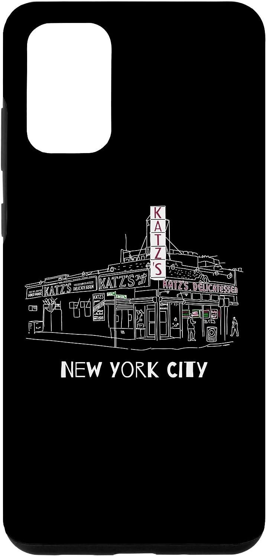 Galaxy S20+ Kat'z Deli New York City for Reuben Sandwich Fans Case