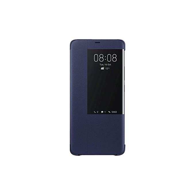 online store 4953d 12bc4 Huawei Official Genuine 51992624 Smart View Protective Flip Case Cover Mate  20 Pro - Deep Blue