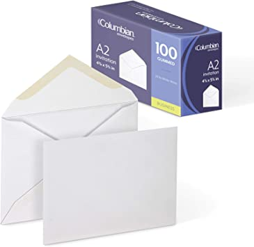 """Black Cards//White envelopes 3"""" x 3"""" Note Card Pack of 10 NEW"""