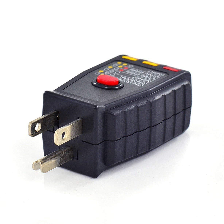 Amazon.com: InstallerParts AC GFCI - Comprobador de circuito ...